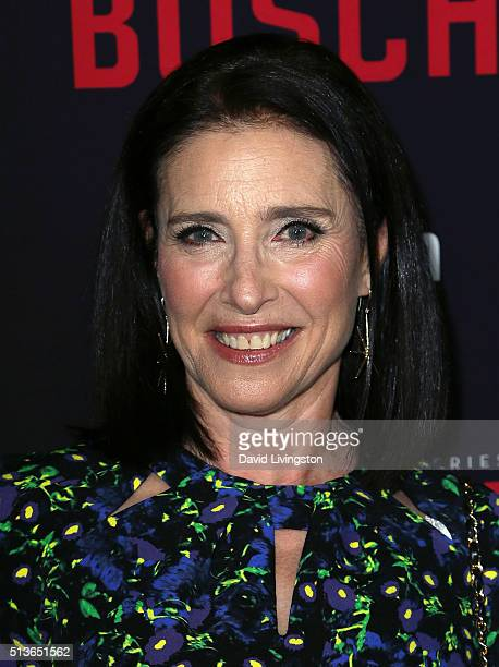 """Actress Mimi Rogers attends the premiere of Amazon's """"Bosch"""" Season 2 at SilverScreen Theater at the Pacific Design Center on March 3, 2016 in West..."""