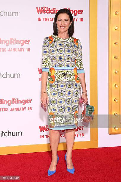 Actress Mimi Rogers attends the world premiere of 'The Wedding Ringer' at TCL Chinese Theatre on January 6 2015 in Hollywood California