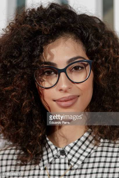 Actress Mina El Hammani attends the Highwaymen at Capitol cinema on March 25 2019 in Madrid Spain