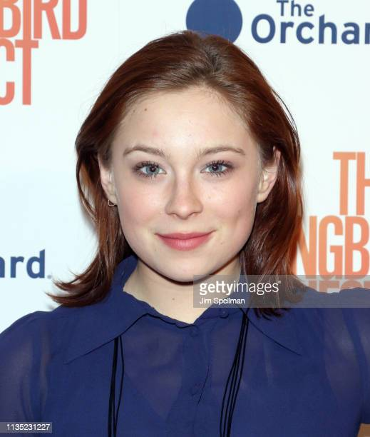 Actress Mina Sundwall attends the The Hummingbird Project New York screening at Metrograph on March 11 2019 in New York City