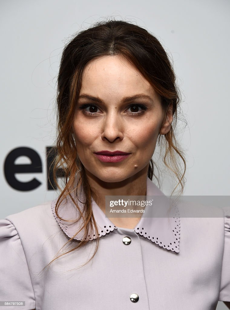 Actress Mina Tander attends EPIX's Television Critics Association Tour at The Beverly Hilton Hotel on July 30, 2016 in Beverly Hills, California.