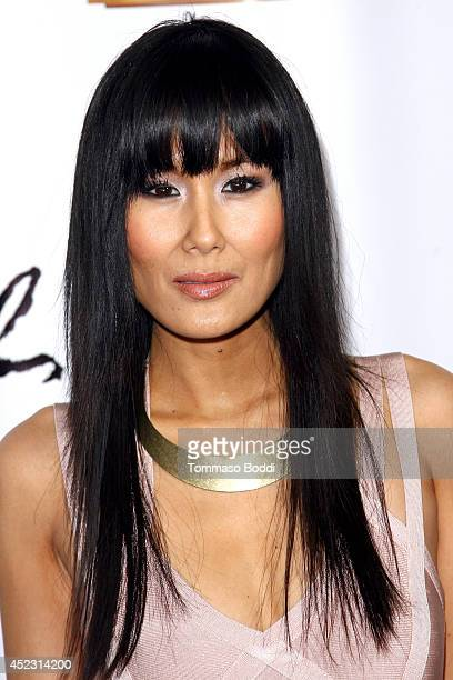 Actress Minae Noji attends the 'Once' Los Angeles opening night held at the Pantages Theatre on July 17 2014 in Hollywood California