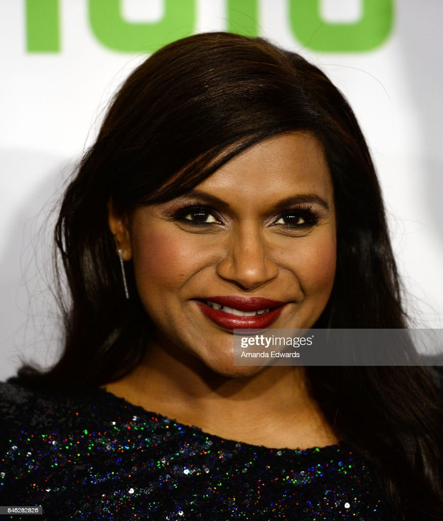 Actress Mindy Kaling arrives at Hulu's 'The Mindy Project' Final Season Premiere Party at The London West Hollywood on September 12, 2017 in West Hollywood, California.