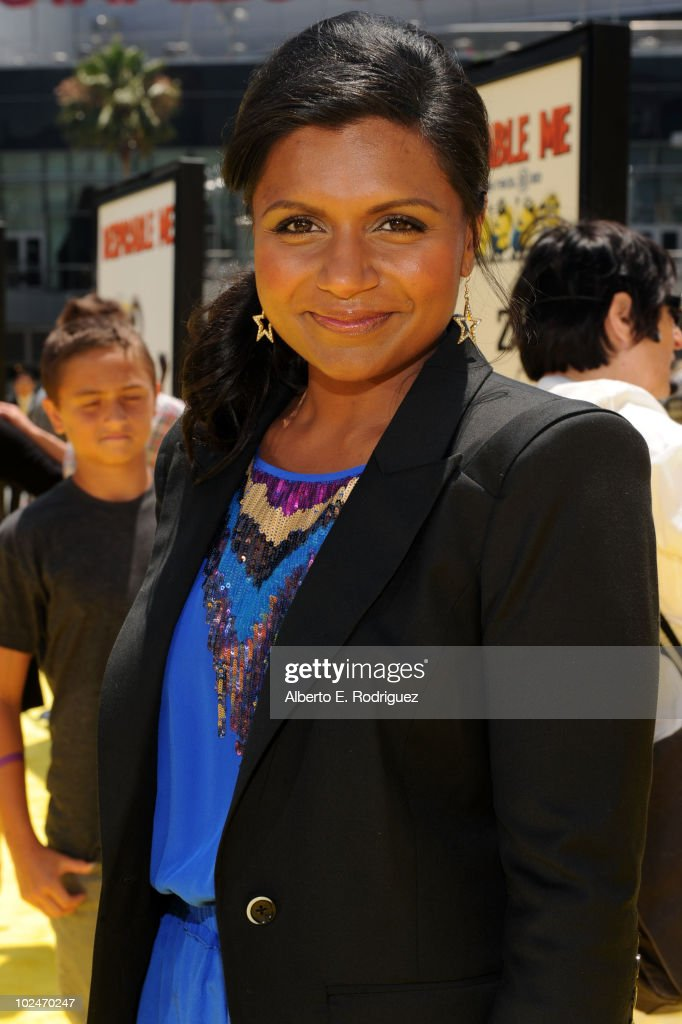Actress Mindy Kaling Arrives To The Premiere Of Despicable Me News Photo Getty Images