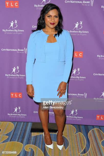 Actress Mindy Kaling attends Big Brothers Big Sisters of Greater Los Angeles' annual Accessories for Success spring scholarship luncheon at the...