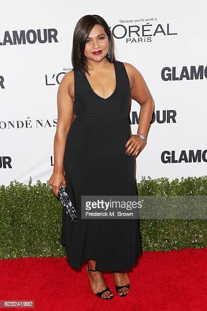 Actress Mindy Kaling attends Glamour Women Of The Year 2016 at NeueHouse Hollywood on November 14 2016 in Los Angeles California