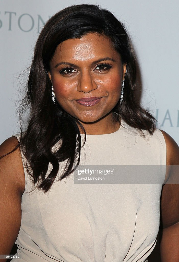 Actress Mindy Kaling attends the 1st Annual Baby2Baby Gala at The BookBindery on November 3, 2012 in Culver City, California.