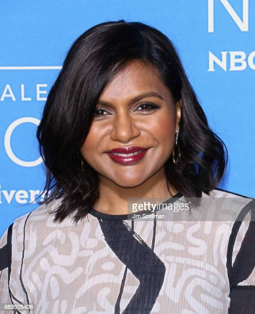 Actress Mindy Kaling attends the 2017 NBCUniversal Upfront at Radio City Music Hall on May 15 2017 in New York City