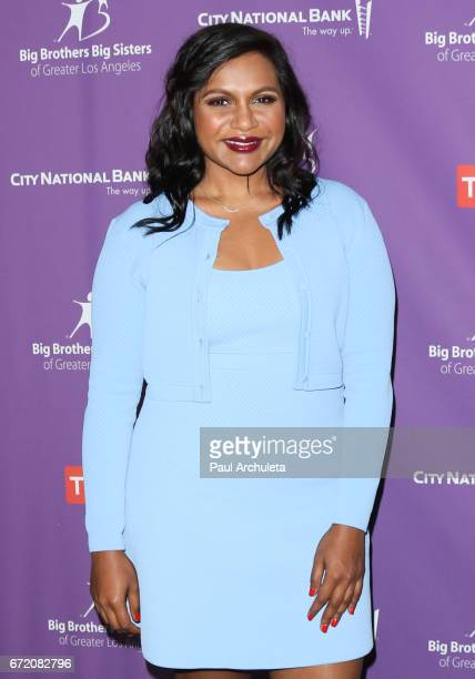 Actress Mindy Kaling attends the Big Brothers Big Sisters of greater Los Angeles' annual Accessories For Success spring scholarship luncheon at the...