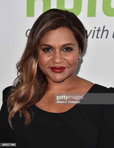 Actress Mindy Kaling attends the Hulu TCA Summer 2016 at The Beverly Hilton Hotel on August 5 2016 in Beverly Hills California