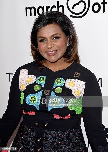 Actress Mindy Kaling attends the March Of Dimes Celebration Of Babies Luncheon honoring Jessica Alba at the Beverly Wilshire Four Seasons Hotel on...
