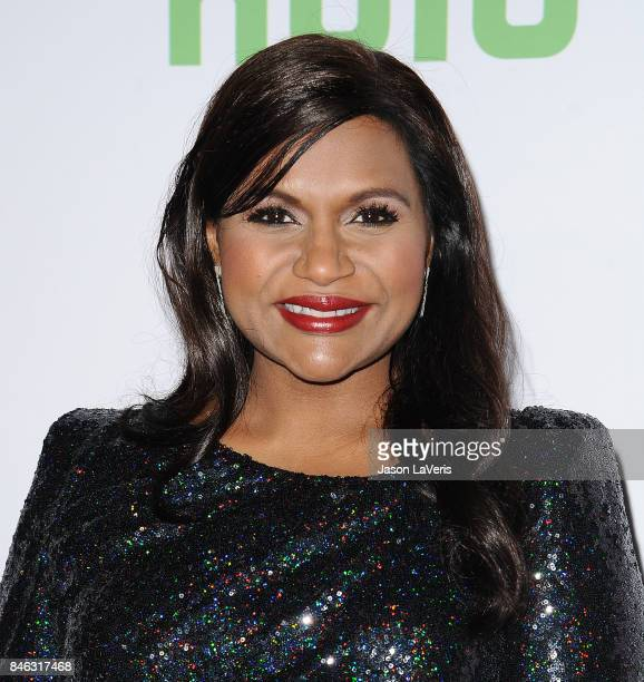 Actress Mindy Kaling attends The Mindy Project final season premiere party at The London West Hollywood on September 12 2017 in West Hollywood...