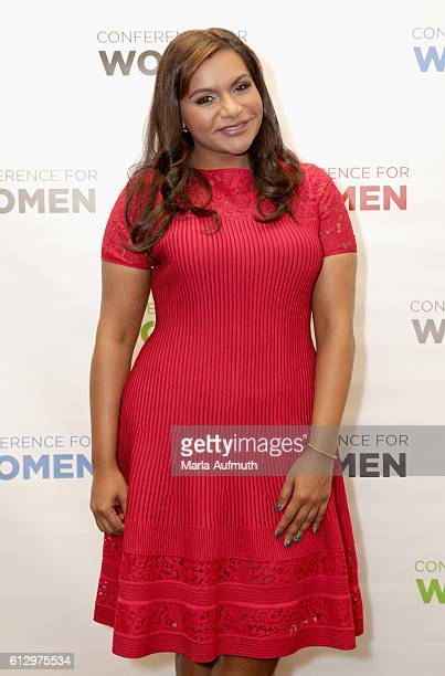 Actress Mindy Kaling attends the Pennsylvania Conference for Women 2016 at Pennsylvania Convention Center on October 6 2016 in Philadelphia...