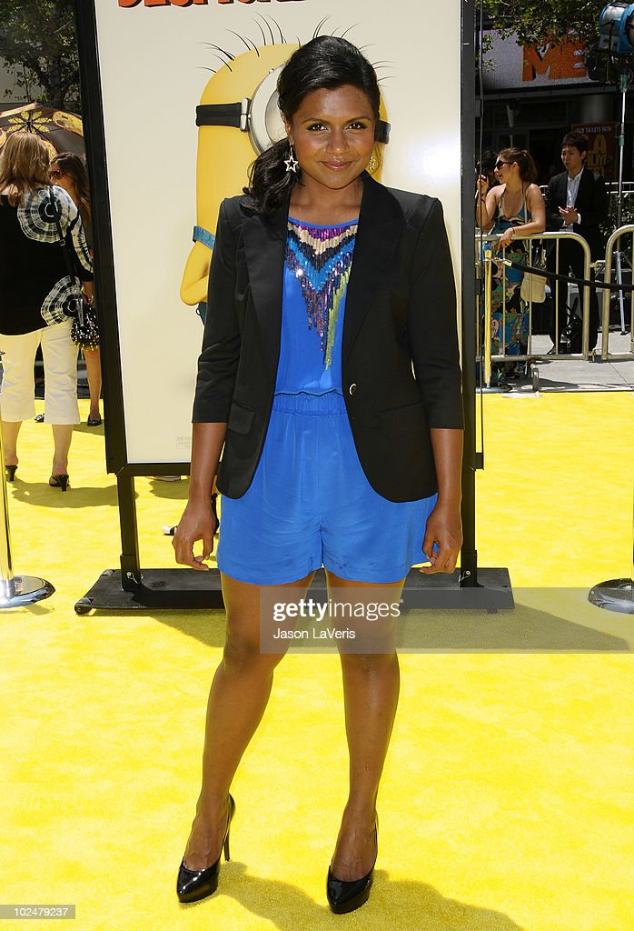 Actress Mindy Kaling Attends The Premiere Of Despicable Me At Nokia News Photo Getty Images