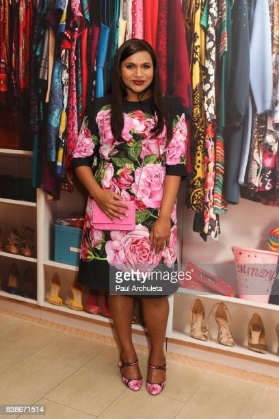 Actress Mindy Kaling attends the 'The Mindy Project' 6 Seasons Of Style at The Paley Center for Media on August 24 2017 in Beverly Hills California