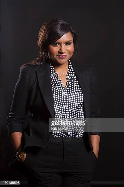 Actress Mindy Kaling is photographed for Los Angeles Times on April 30 2013 in Los Angeles California PUBLISHED IMAGE CREDIT MUST BE Kirk McKoy/Los...