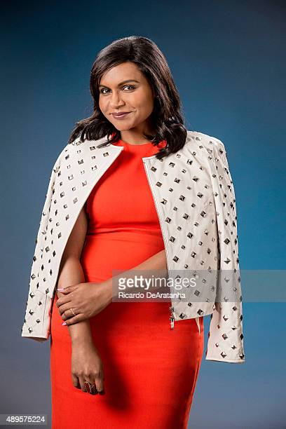 Actress Mindy Kaling is photographed for Los Angeles Times on June 11 2015 in Los Angeles California PUBLISHED IMAGE CREDIT MUST READ Ricardo...