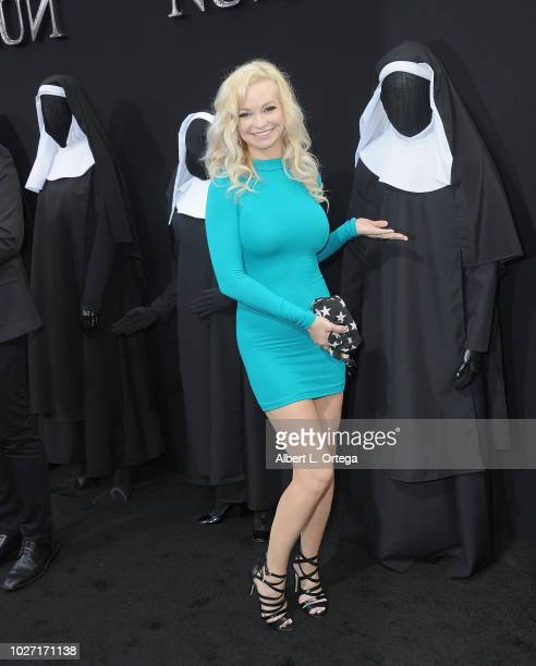 Actress Mindy Robinson arrives the Premiere Of Warner Bros Pictures' The Nun held at TCL Chinese Theatre on September 4 2018 in Hollywood California