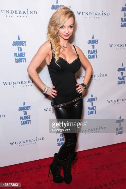Actress Mindy Robinson attends 'A Journey To Planet Sanity' Los Angeles Premiere at Laemmle Monica 4Plex on December 2 2013 in Santa Monica California