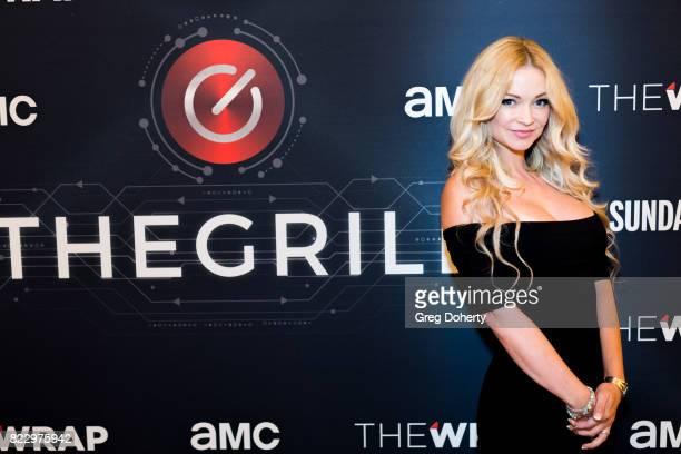 Actress Mindy Robinson attends TheGrill Special Event With Charlie Collier Of AMC Networks And Special Guest Kevin Smith Presented By TheWrap July...