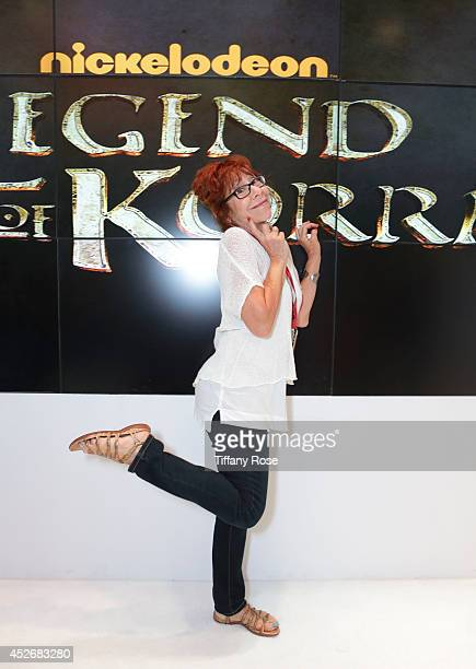 Actress Mindy Sterling attends the Legend of Korra signing at the 2014 San Diego ComicCon International Day 3 on July 25 2014 in San Diego California