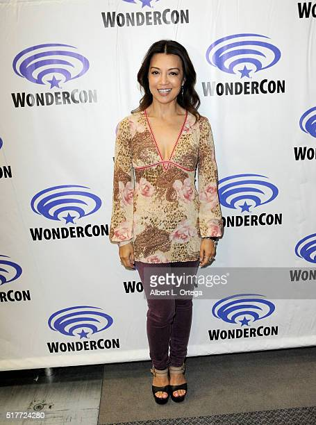 Actress Ming NaWen of Agents Of SHEILD on Day 2 of WonderCon 2016 held at the Los Angeles Convention Center on March 26 2016 in Los Angeles California