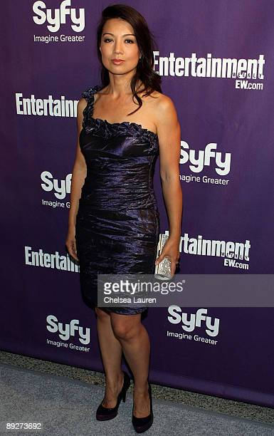 Actress Ming-Na attends the Entertainment Weekly and Syfy party celebrating Comic-Con at Hotel Solamar on July 25, 2009 in San Diego, California.