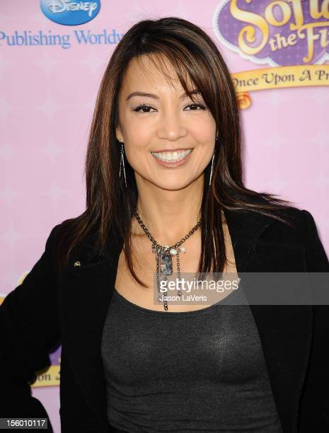 """Actress Ming-Na attends the premiere of """"Sofia The First: Once Upon a Princess"""" at Walt Disney Studios on November 10, 2012 in Burbank, California."""