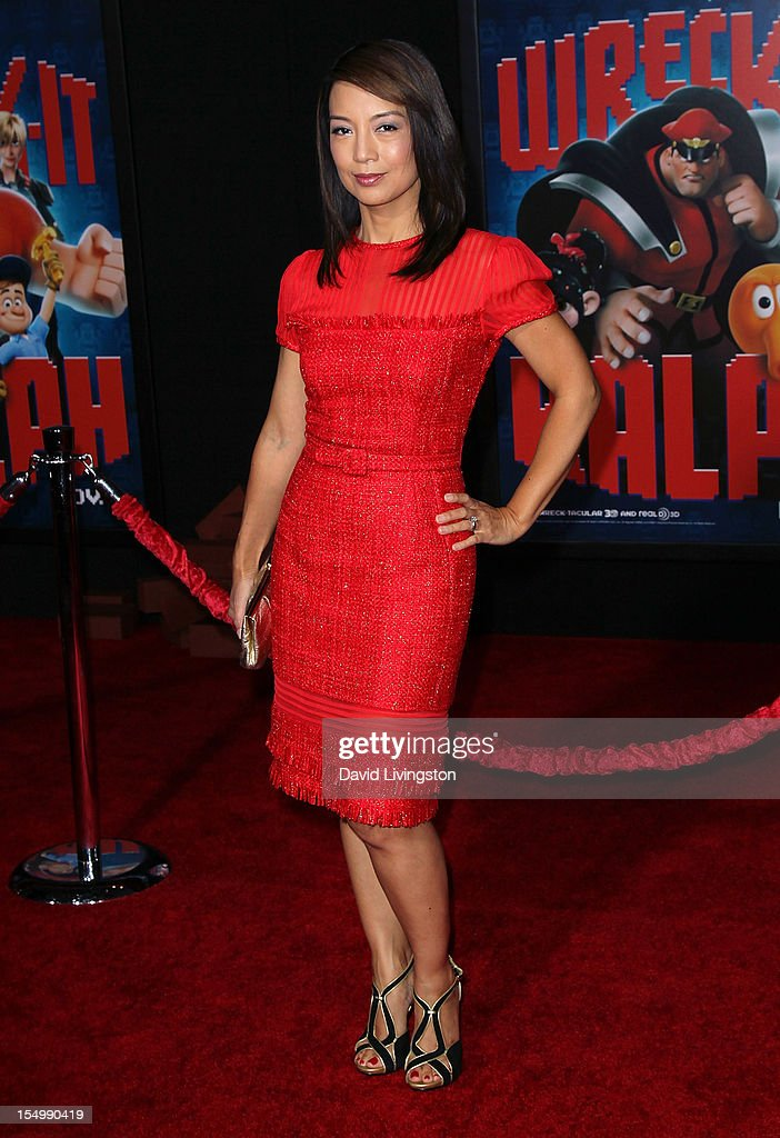 Actress Ming-Na attends the premiere of Walt Disney Animation Studios' 'Wreck-It Ralph' at the El Capitan Theatre on October 29, 2012 in Hollywood, California.