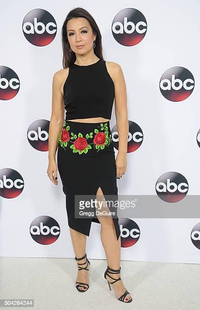 Actress MingNa Wen arrives at the 2016 Winter TCA Tour Disney/ABC at Langham Hotel on January 9 2016 in Pasadena California