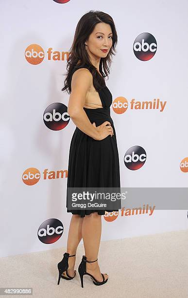 Actress MingNa Wen arrives at the Disney ABC Television Group's 2015 TCA Summer Press Tour on August 4 2015 in Beverly Hills California