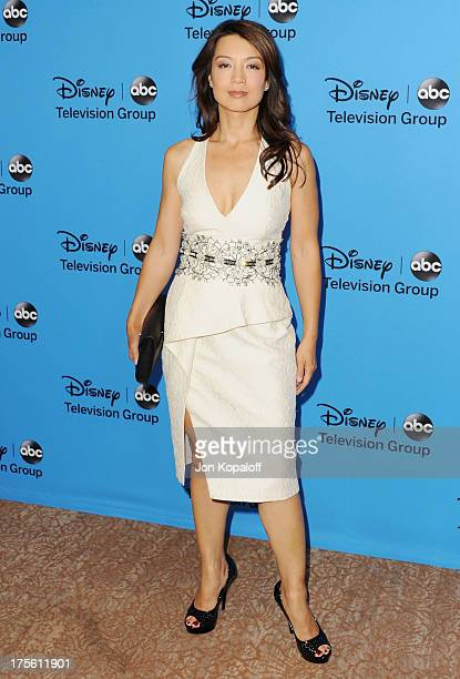 Actress MingNa Wen arrives at the Disney/ABC Party 2013 Television Critics Association's Summer Press Tour at The Beverly Hilton Hotel on August 4...