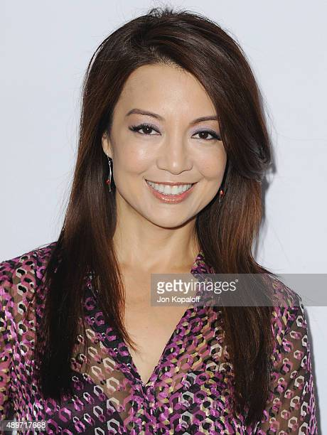 Actress MingNa Wen arrives at the Premiere Of Marvel's Agents Of SHIELD at Pacific Theatre at The Grove on September 23 2015 in Los Angeles California
