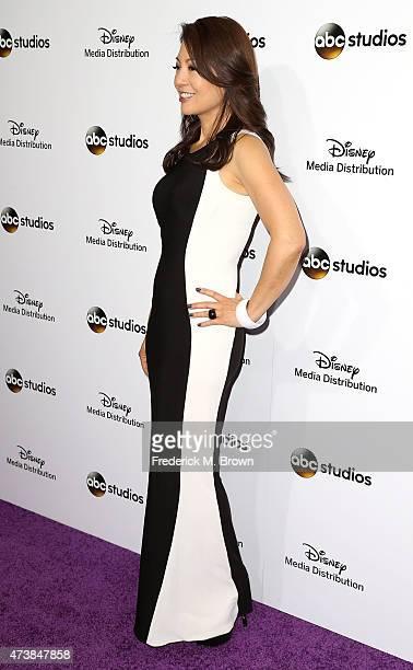 Actress MingNa Wen attends Disney Media Disribution International Upfronts at Walt Disney Studios on May 17 2015 in Burbank California