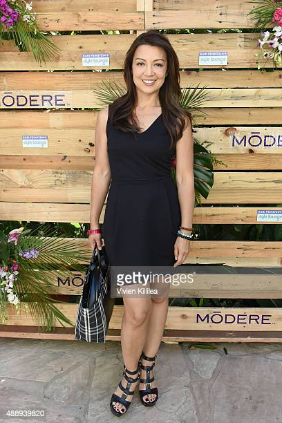 Actress MingNa Wen attends Kari Feinstein's Style Lounge at Sunset Marquis Hotel Villas on September 18 2015 in West Hollywood California