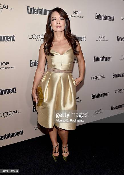 Actress MingNa Wen attends the 2015 Entertainment Weekly PreEmmy Party at Fig Olive Melrose Place on September 18 2015 in West Hollywood California