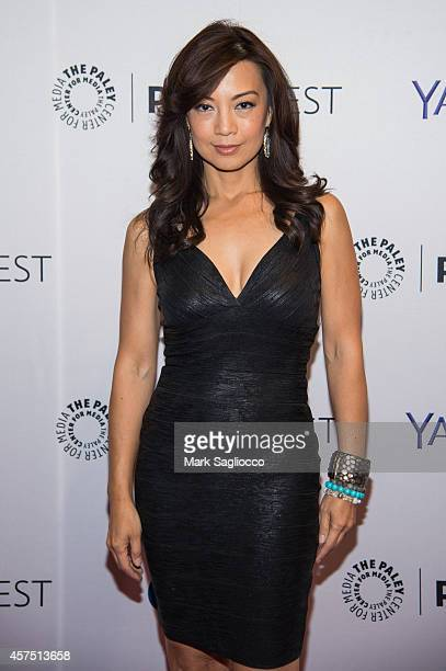 Actress MingNa Wen attends the 2nd Annual Paleyfest Presentation of 'Marvel Agents of SHIELD' at the Paley Center For Media on October 19 2014 in New...