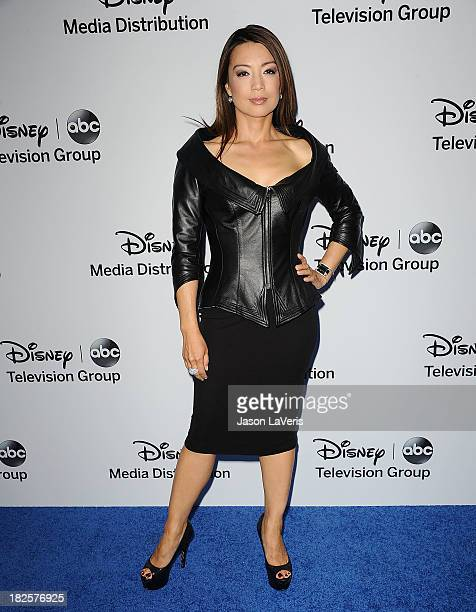 Actress MingNa Wen attends the Disney Media Networks International Upfronts at Walt Disney Studios on May 19 2013 in Burbank California