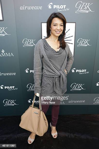 Actress MingNa Wen attends the GBK Pilot Pen PreGolden Globe Gift Lounge on January 11 2014 in Beverly Hills California