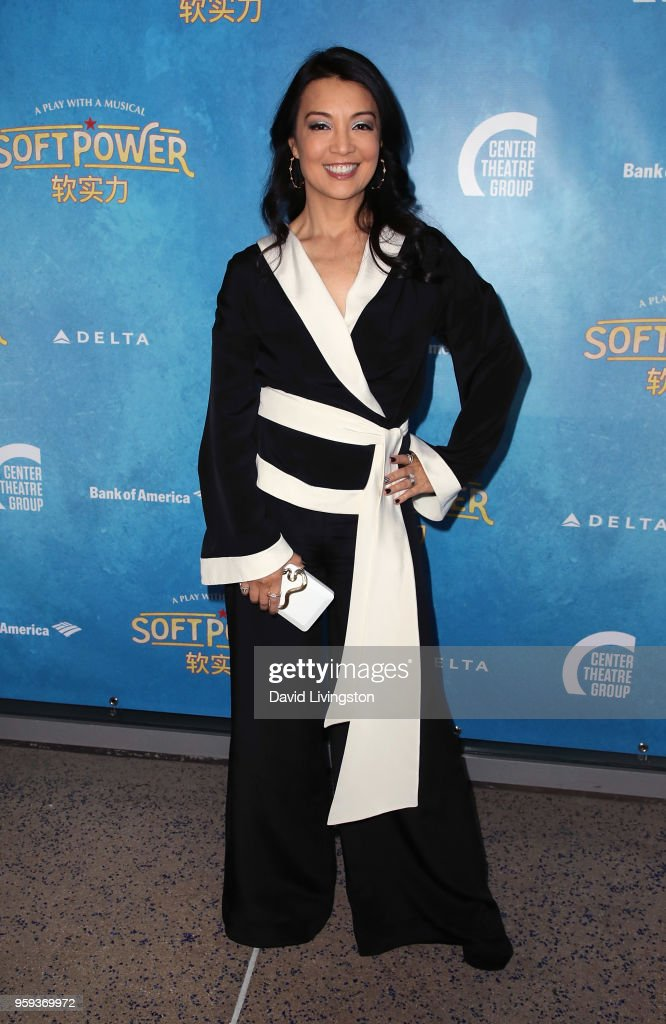 Actress Ming-Na Wen attends the opening night of 'Soft Power' presented by the Center Theatre Group at the Ahmanson Theatre on May 16, 2018 in Los Angeles, California.
