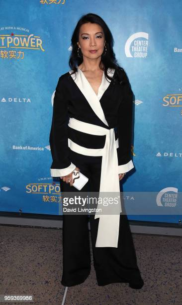 Actress MingNa Wen attends the opening night of 'Soft Power' presented by the Center Theatre Group at the Ahmanson Theatre on May 16 2018 in Los...