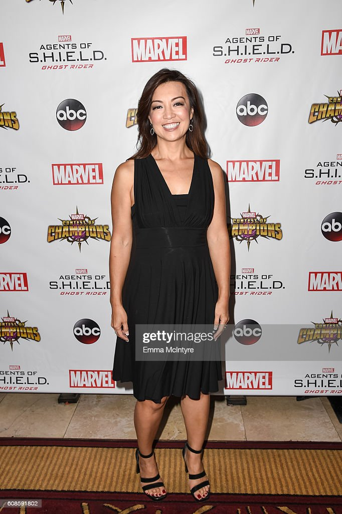 Actress Ming-Na Wen attends the premiere of ABC's 'Agents of Shield' Season 4 at Pacific Theatre at The Grove on September 19, 2016 in Los Angeles, California.