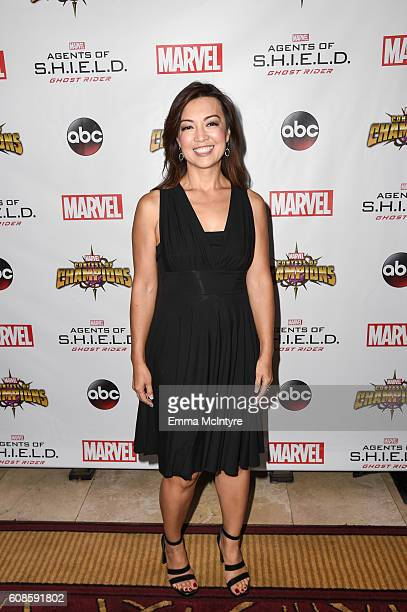 Actress MingNa Wen attends the premiere of ABC's 'Agents of Shield' Season 4 at Pacific Theatre at The Grove on September 19 2016 in Los Angeles...