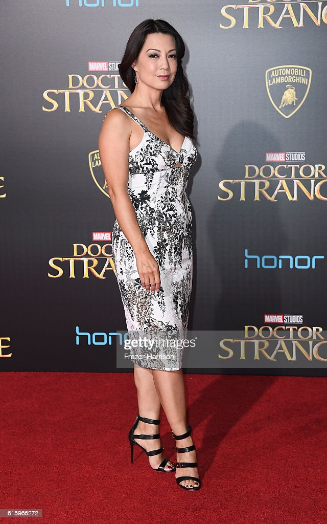 Actress Ming-Na Wen attends the Premiere of Disney and Marvel Studios' 'Doctor Strange' on October 20, 2016 in Hollywood, California.