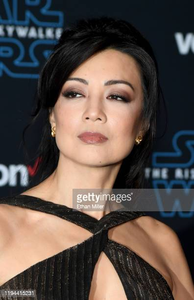 """Actress Ming-Na Wen attends the premiere of Disney's """"Star Wars: The Rise of Skywalker"""" on December 16, 2019 in Hollywood, California."""