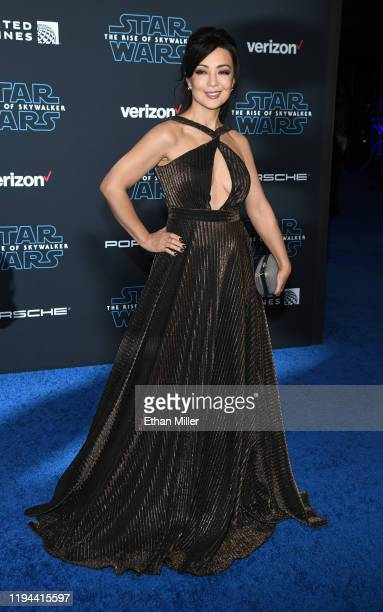 "Actress Ming-Na Wen attends the premiere of Disney's ""Star Wars: The Rise of Skywalker"" on December 16, 2019 in Hollywood, California."
