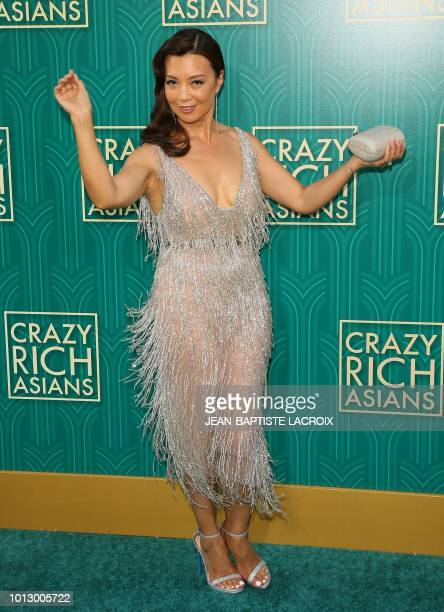 Actress MingNa Wen attends the premiere of Warner Bros Pictures' 'Crazy Rich Asians' in Hollywood California on August 7 2018