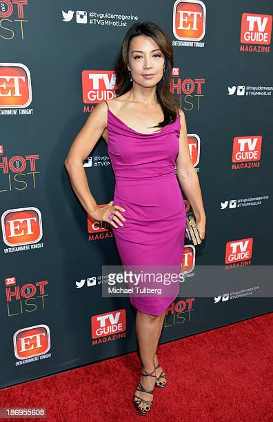 Actress MingNa Wen attends TV Guide Magazine's Annual Hot List Party at The Emerson Theatre on November 4 2013 in Hollywood California