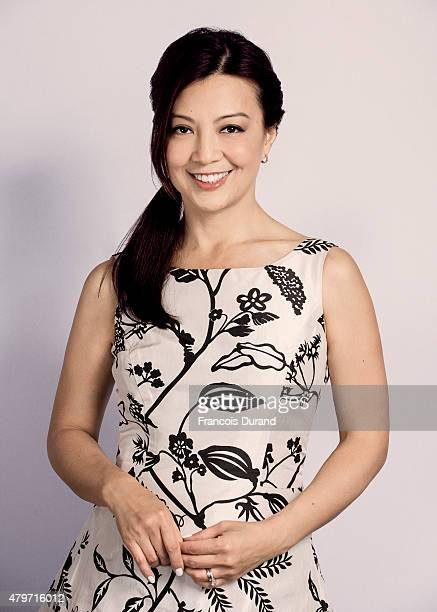 Actress MingNa Wen poses for a portrait at the 55th Monte Carlo TV Festival at the Fairmont MonteCarlo on June 15 2015 in MonteCarlo Monaco