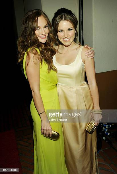 Actress Minka Kelly and Sophia Bush arrive at Audi presents The Art of Elysium's 5th annual HEAVEN at Union Station on January 14 2012 in Los Angeles...